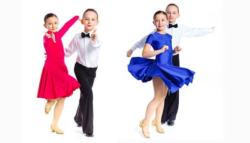 Children's Beginners Ballroom & Latin-American (7yrs+)