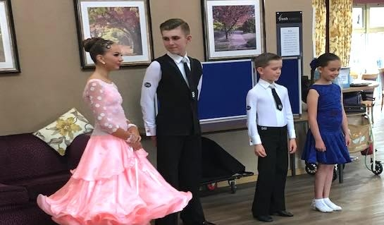 Regency Dancers Perform at Poppy Fields Extra Care Scheme